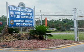 Corrections Officer Accused Of Smuggling Narcotics Into Escambia Road Prison