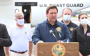 "All Hands On Deck"" DeSantis Prioritizes Power Restoration After Hurricane Sally"
