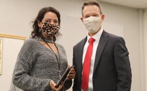 Bratt Elementary's Emily Tullis Named School District's Stellar Employee Of The Month