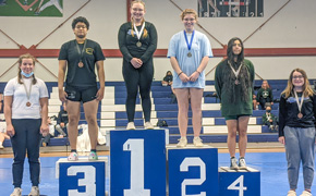 Jay Second, Northview Third In District Girls Weightlifting Meet