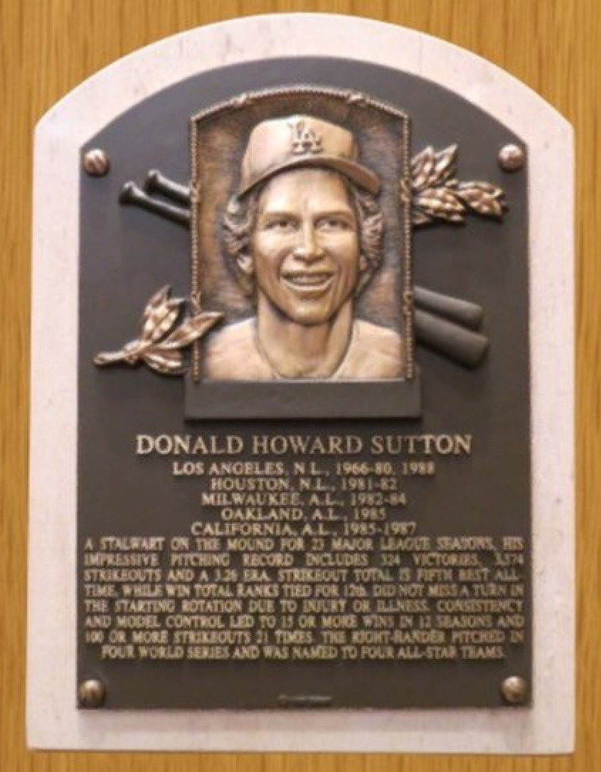 Hall of Fame pitcher Don Sutton dies at 75