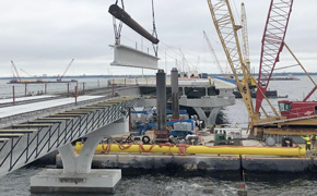 Pensacola Bay Bridge Probably Won't Reopen In March; More Damage Found