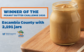 Escambia County Wins State Peanut Butter Challenge