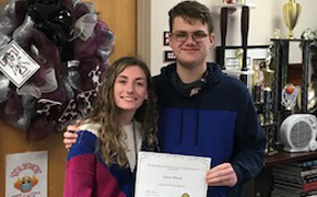 Tate High School Names Students Of The Month