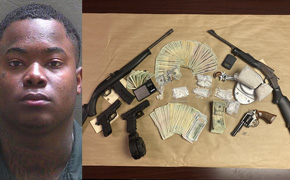 Cantonment Man Charged After Drugs, Weapons, Cash Found During Search Warrant Service