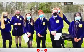 Beulah Middle School FFA Chapter Named One Of The Very Best In Florida