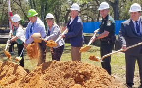Groundbreaking Held For New Bellview Library, The First In District 1