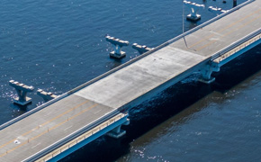 Pensacola Bay Bridge Deck Replaced, Reopening Still Planned For Week Of Memorial Day