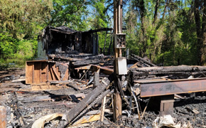 Fire Marshal Investigating Fire That Destroyed Walnut Hill Mobile Home