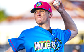 Blue Wahoos Lose 16-6 to Barons On Mullets Thursday