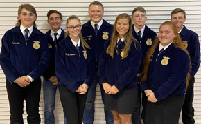 Northview FFA Selects 2021-2022 Officer Team