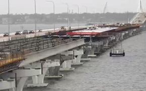 Skanska Says They Moved, Secured Barges Away From Pensacola Bay Bridge