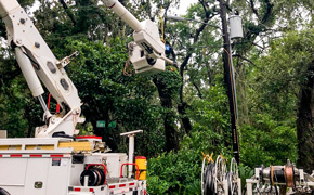 Over 22,000 Lost Power Due To Tropical Storm Claudette; Majority Restored By Early Afternoon