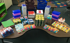 Ray's Chapel Donates School Supplies To Byrneville Elementary School