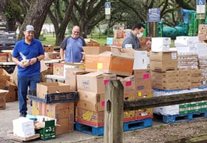 Big 30,000 Pound Food Giveaway Saturday In Cantonment
