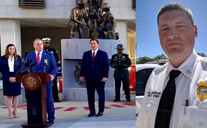 Fallen Escambia Fire Chief Dwain Bradshaw Among 18 Added To Florida Memorial