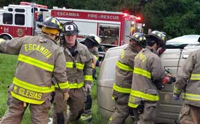 Escambia County Ratifies New Contracts With Firefighters And Corrections Officers