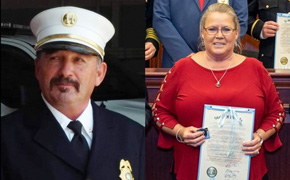 Gary Diamond Of Molino Honored Posthumously As Florida's Career Firefighter Of The Year