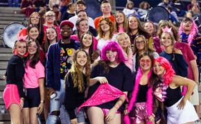 Bonus Photo Gallery: Northview Chiefs Band, Cheerleaders And Fans