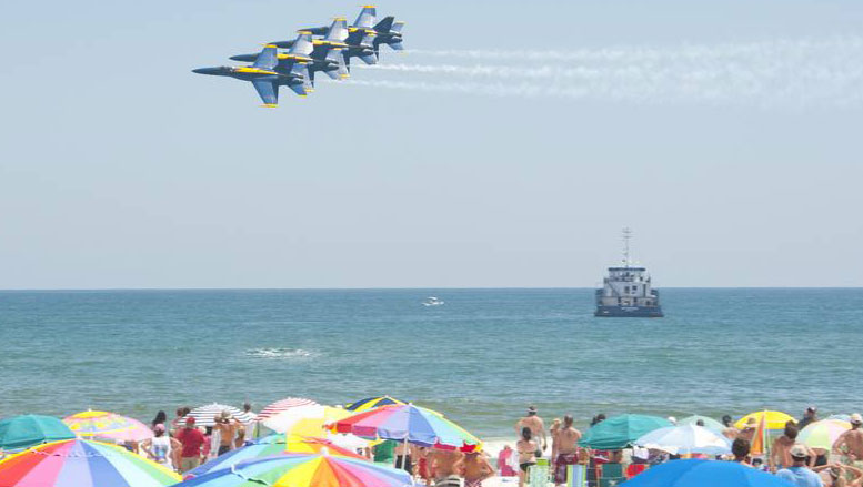 Blue Angels At Pensacola Beach July 10 2010 Today
