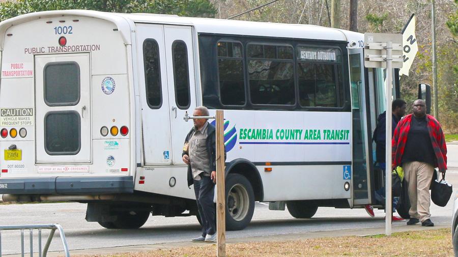 Ecat Receives 180k Grant For Cantonment Molino Century Bus Route Northescambia Com